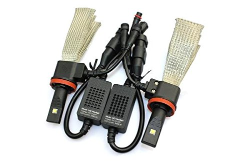Halo Automotive Premium Fanless 9005 LED Conversion Kit - 40w 8,000Lm 6000K White CREE - 2 Year Warranty (2008 Dodge Avenger Halo compare prices)
