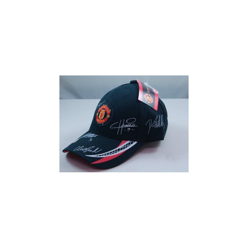 FC MANCHESTER UNITED OFFICIAL TEAM LOGO CAP / HAT   MU020