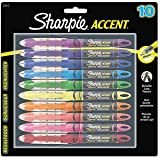 Sharpie Liquid Pen-Style Highlighters-Assorted-10 ct