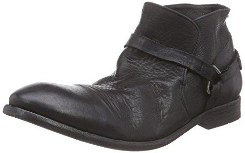 H ShoesHAGUE - Stivali da Motociclista uomo , Nero (Nero), 39