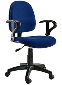 sedia per ufficio easy colore blu elettronica