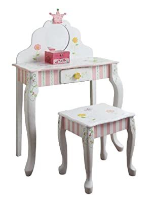 Fantasy Fields Princess Frog Vanity Table Stool Set Rhdfn6lja