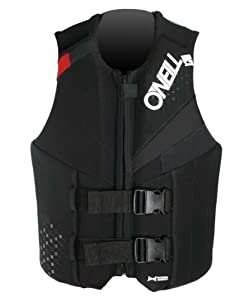 O'Neill Wetsuits Teen USCGA Vest, Col/Black/Red, 90-120-Pounds