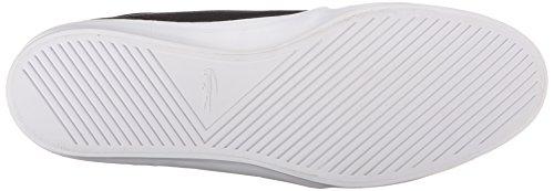 Lacoste Men's Ampthill Chunky SEP Fashion Sneaker, Black/Black, 10 M US