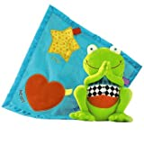 Delightful Garden Friends Franklin Comfort Blanket - Cleva Edition ChildSAFE Door Stopz Bundle