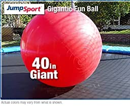 JumpSport 40-Inch Gigantic Red Fun Ball