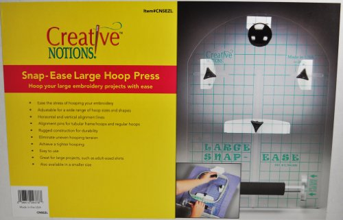 Sewing Snap Ease Large Hoop Press Cnsezl front-44841