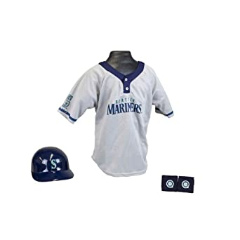 Seattle Mariners MLB Youth Team Uniform Set by Franklin