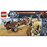 Toy / Game Awesome LEGO Star Wars 9496 Desert Skiff With Retractable Plank Flick Missile (Weapons Locker)