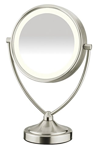 Conair Natural Daytime Lighted Round Mirror; 1x/10x Magnification (Conair Natural Daylight Mirror compare prices)