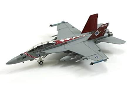 "F/A-18F maquette avion échelle 1:200 US Navy VFA-102 ""Diamondbacks"""