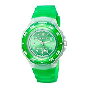 Timex Unisex Marathon Analog Bright Green Resin Watch #T5K3669J
