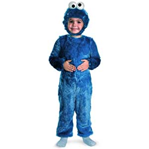 Disguise Limited Sesame Street Cookie Monster Baby Costume 3 - 4 Toddler