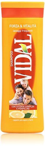 Vidal - Shampoo Forza e Vitalità, 250 ml