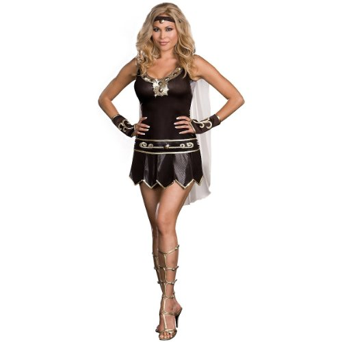 Babe-A-Lonian Warrior Queen Costume - Plus Size 3X/4X - Dress Size 18-20