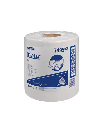 kimberly-clark-wypall-l10-wipers-centrefeed-airflex-500-sheets-per-roll-206x380-white-ref-7025-7495-