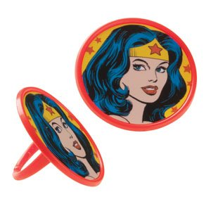 Wonder Woman Party Rings