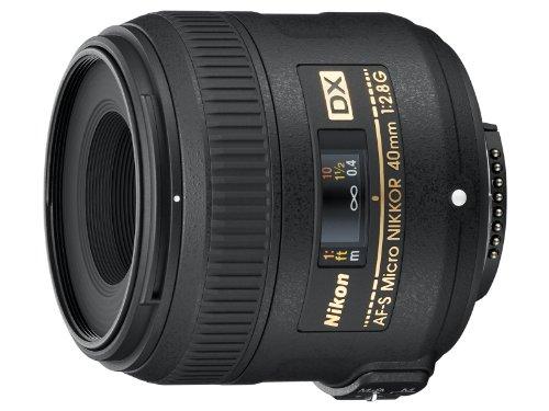 Nikon 40mm f/2.8G AF-S DX Micro NIKKOR Lens for