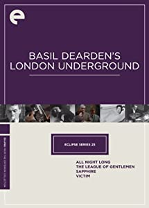 Eclipse Series 25: Basil Dearden's London Underground (Sapphire / The League of Gentlemen / Victim / All Night Long) (The Criterion Collection)