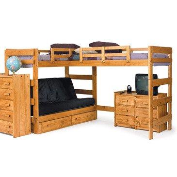 Futon Bunk Beds 4017 front