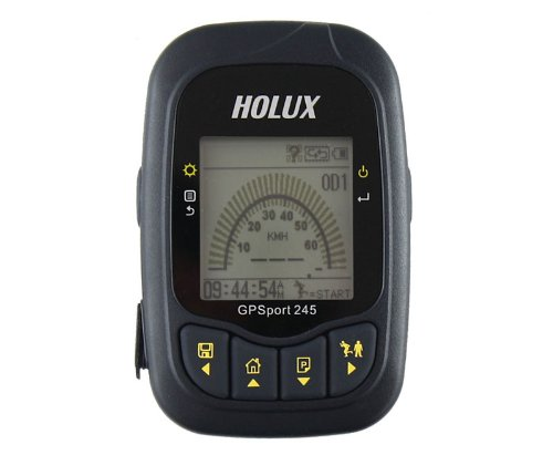 Holux Gpsport 245 Outdoor Bike Cycling Walking Running Vehicle GPS Receiver Data Logger by Koolertron