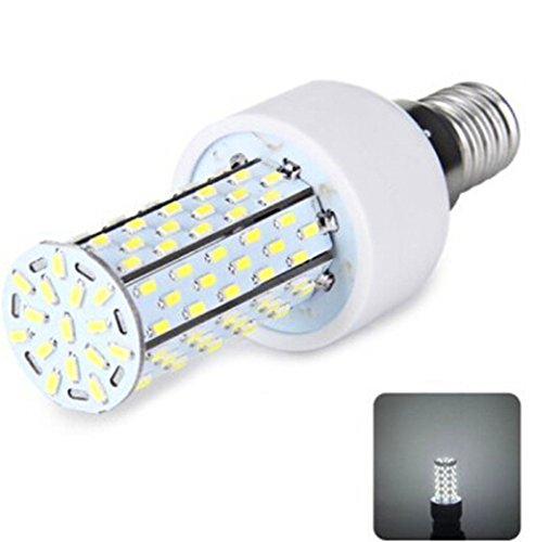 Domire E14 120-Smd 3014 Led 6000-6500K 85-265V 12W 1200Lm Highlight Corn Light Without Lamp Shade