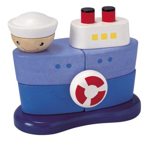 Plan Toy Geometric Sorting Boat - 1