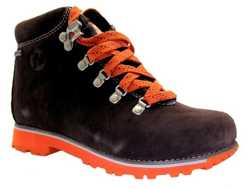 Merrell Boy's Wilderness Kid's Lace Up Leather Waterproof Walking Boots