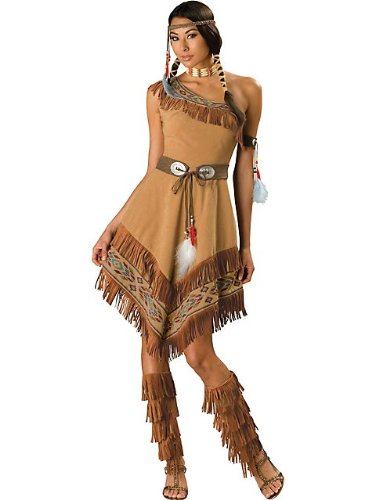 Indian Maiden Costume - Medium - Dress Size 6-10