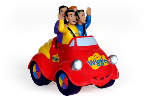 The Wiggles Push Top Wiggle and GIggle Musical Singing Big Red Car Toot Toot Chugga Chugga - 1