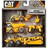 "Toy State CAT Mini Machine, 3"", 5-Pack"