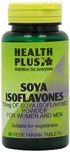 Health Plus Soya Isoflavones 750mg Women's Health Plant Supplement - 60 Tablets