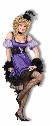 Deluxe Dance Hall Girl Adult Costume - Womens Small
