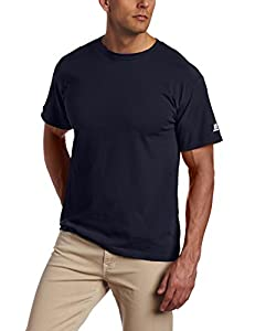 Russell Athletic Men's Basic T-Shirt, J Navy, 3X-Large
