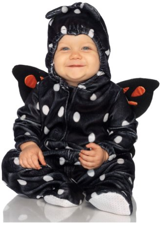 Leg Avenue Costume Baby Butterfly Hooded Bodysuit with Stuffed Wings