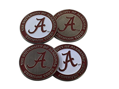 university-of-alabama-golf-ball-marker-set-4-double-sided-a