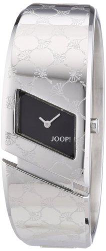 Joop  0 - Reloj de cuarzo para mujer, con correa de acero inoxidable, color plateado
