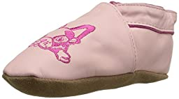 Robeez Puppy Love Crib Shoe (Infant), Pink, 12-18 Months M US Infant