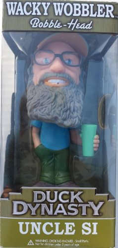 Duck Dynasty Wacky Wobblers Uncle Si Bobblehead - 1