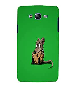 printtech Small Rat Cookie Back Case Cover for Samsung Galaxy A7 / Samsung Galaxy A7 A700F