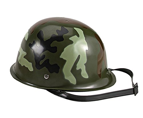 Kid's Woodland Camo Play Army Helmet