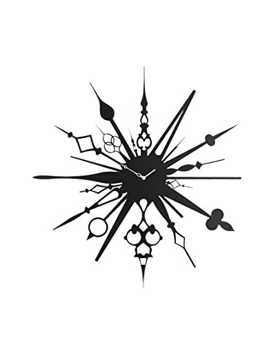 Diamantini N & N Domeniconi klok Millelancette zwart