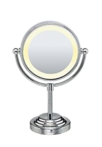 Amazon.com: Conair Be4nw Classique Double-sided Lighted Makeup Mirror With 5x Magnification: Beauty
