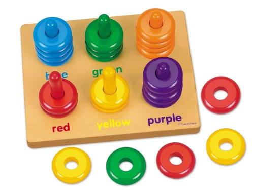 Color Rings Sorting Board - 1
