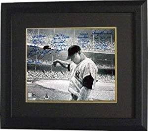 Whitey Ford signed New York Yankees B&W 16x20 Photo Custom Framed Mickey Mantle... by Sports Memorabilia