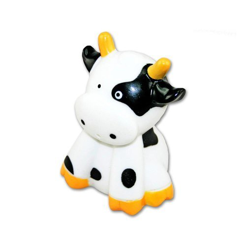 Puzzled Bath Buddy Sitting Cow Water Squirter - 1