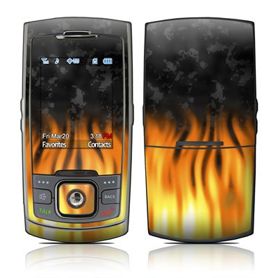 BBQ Design Protective Skin Decal Sticker for Samsung SPH-M520 Cell Phone