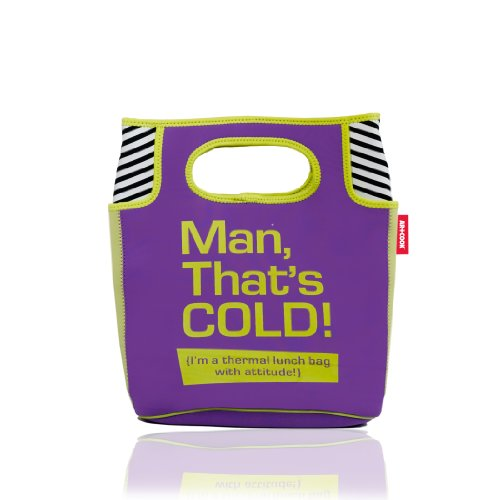 Art and Cook Small Thermal Lunch Bag, Man That'S Cold - 1