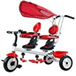 Twin trike- cherry red or apple green...