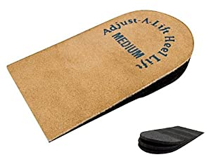 Orthopedic Heel Lift - Adjustable Heel Lift, Medium Heel Lift Insert, Adjust a Lift Heel